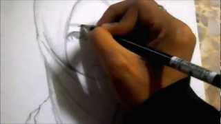 getlinkyoutube.com-How To Draw Hijab Girl