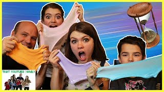 Fastest Slime Making Challenge / That YouTub3 Family