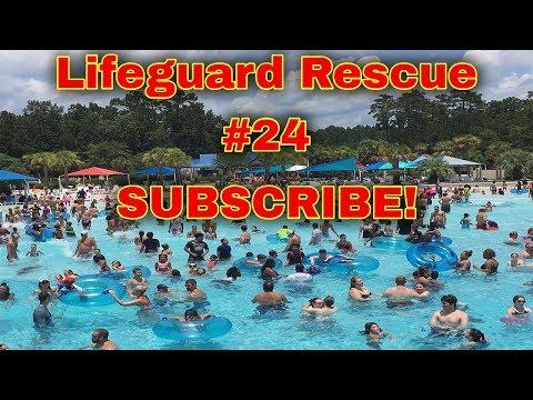 معلمة سباحة تنقذ طفل  يغرق