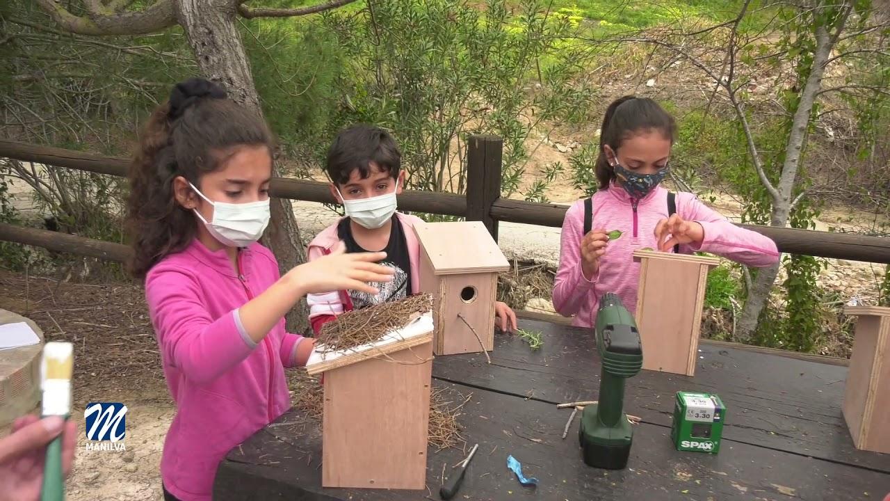 II edición de taller de creación de cajas nido