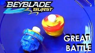 getlinkyoutube.com-Beyblade Burst by Hasbro Micros Batlle Valtryek V2 Vs Sprizen S2 Plus Exclusive Surprise
