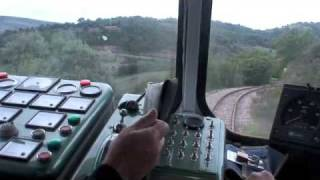 getlinkyoutube.com-Sardinian Railcar - cab view