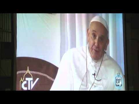 Raw: Pope Francis' Video Message to Shantytown