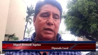 Urgen bomberos en Loma Bonita, Diputado Miguel Bernardi