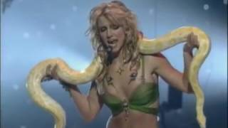 Britney Spears     2001 MTV live performance I'm a slave for you