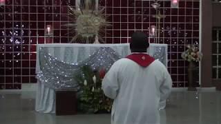 Rev Fr Mario David Dibie- Eucharistic Adoration with SHCC- CEMADONTV