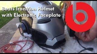 getlinkyoutube.com-Beats by Dre IronMan Helmet Complete