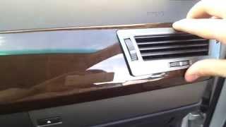 IHKA Klimabedienteil beim BMW E65 ausbauen.
