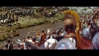 Battle of Chaeronea in Robert Rossen's movie