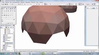 Как построить геодезический купол в ArchiCAD