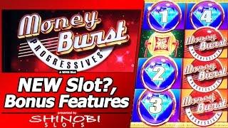 getlinkyoutube.com-Forever Luck Slot - First Attempt in WMS Money Burst Progressive title