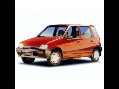 Daewoo Tico - Workshop, Service, Repair Manual