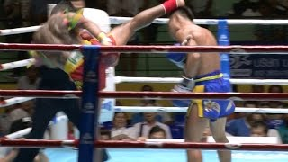 Muay Thai Fight - Pornsanae vs Pokkeaw - New Lumpini Stadium Bangkok, 8th July 2014