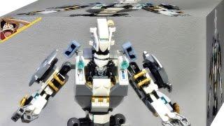 레고 닌자고 티타늄 닌자 쟌의 타이탄 로봇 전투 70737 조립 리뷰 Lego Ninjago Titan Mech Battle