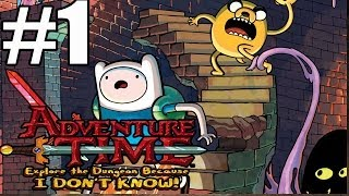 getlinkyoutube.com-Adventure Time Explore The Dungeon Because I Don't Know Walkthrough Part 1 (90 Minutes)
