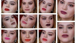 getlinkyoutube.com-SEPHORA Cream Lip Stain Lookbook