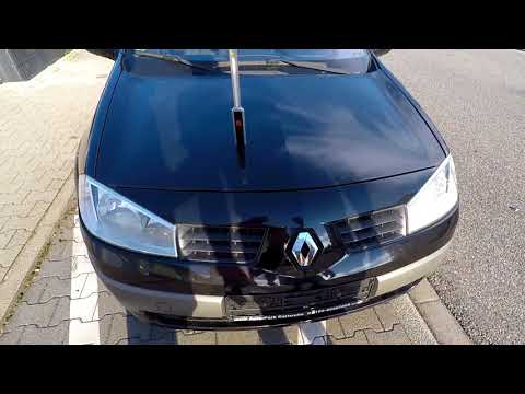 Motorhaube offnen ohne Bowdenzug Renault Megane | open hood with broken cable