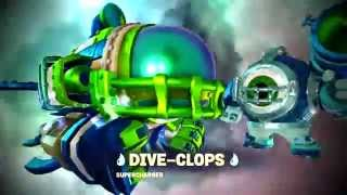 getlinkyoutube.com-Skylanders Superchargers - Supercharged Challenges: Go Like A Bomb (Dive-Clops)