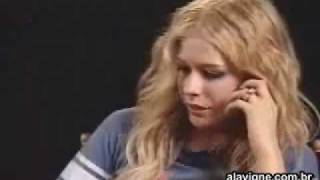 getlinkyoutube.com-Avril Lavigne - Entrevista Fantastico