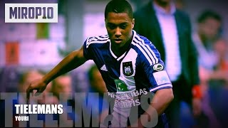Youri Tielemans - One of the best youngs midfielders in Europe |Anderlecht 2016|