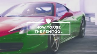 Photoshop Tutorial: HOW TO USE THE PEN TOOL