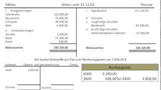 getlinkyoutube.com-Gewinn und Verlustrechnung Einführung, GuV, Ertrag, Aufwand, Erfolg, Erfolgsbuchungen (FOS BOS)