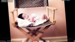 getlinkyoutube.com-Startalk TX: Anak nina Katrina Halili at Kris Lawrence, tampok sa isang 'infant photography'