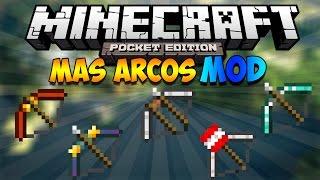 MAS ARCOS MOD PARA MINECRAFT PE 0.12.1   Mods Para Minecraft PE 0.12.1
