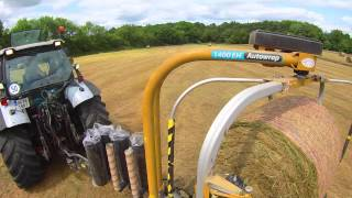 getlinkyoutube.com-Baling and Wrapping Haylage