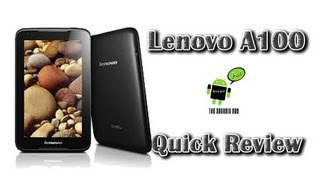 Lenovo A1000 Review