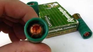 getlinkyoutube.com-Ammo Test  12 Gauge - 1 oz. Copper Solid Slug