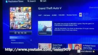 getlinkyoutube.com-طريقة تحميل قراند ٥ GTA V على بلاي ستيشن ٤ PS4