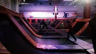getlinkyoutube.com-Gravity Xscape Yorkshire trampoline park Gravity Castleford