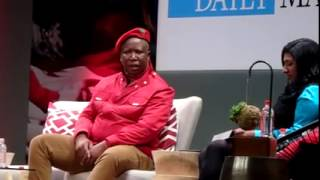 EFF CIC Julius Malema on Daily Maverick debate part 4
