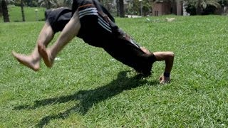 getlinkyoutube.com-تعلم بكل سهولة حركة السوستة الزووم مع نسر الكونغ فو zoom kick up tutorial