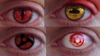 getlinkyoutube.com-REAL LIFE Anime Eyes #2 (Mangekyou, Jagan, Sennin...)