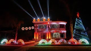 2017 Star Wars Christmas Light Show - A Dubstep EDM Remix of Darth Vader's Imperial March