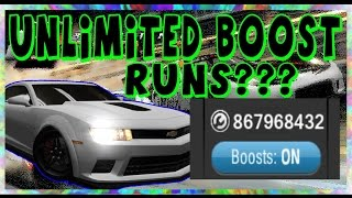 Racing Rivals - FREE BOOST!!! UNLIMITED BOOST RUNS!!! (ios and android)