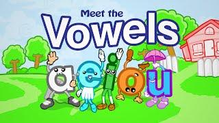 getlinkyoutube.com-Meet the Vowels (FREE) - Preschool Prep Company