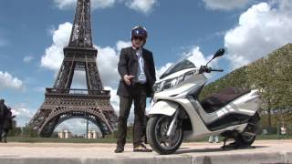 getlinkyoutube.com-2012 Piaggio X10 full review by Tor Sagen in Paris