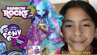 getlinkyoutube.com-My Little Pony Rainbow Rocks Trixie Lulamoon|MLP| Rainbow Rocks Dolls| B2cutecupcakes