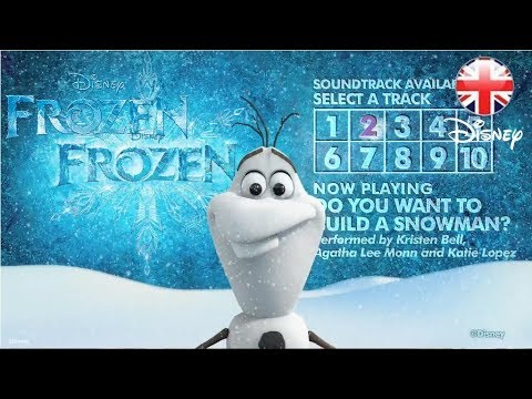 frozen official soundtrack album sampler official hd