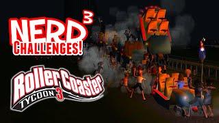 getlinkyoutube.com-Nerd³ Challenges! Red Mist - Rollercoaster Tycoon 3
