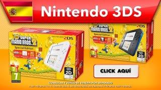 getlinkyoutube.com-New Super Mario Bros. 2 - Packs Nintendo 2DS (Nintendo 3DS)