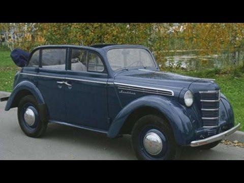 1975. Москвич 400 (Авто подборка)