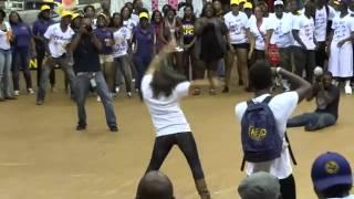 getlinkyoutube.com-White Girl Gettin Live Killin It At University College