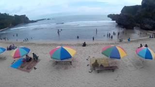 getlinkyoutube.com-Cheerson CX 20 with Xiaomi Yi and Sj4000 wifi. Siung Beach