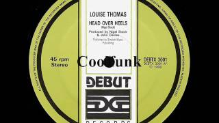 "getlinkyoutube.com-Louise Thomas - Head Over Heels (12"" Electro Disco Boogie 1986)"