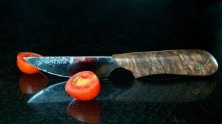 getlinkyoutube.com-Messer Phi - geschmiedet aus einer Feile (v2)