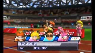 getlinkyoutube.com-Mario & Sonic At The Olympic Games (Princess Daisy)